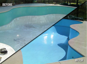 Fiberglass Pool Resurfacing Fiberglass Swimming Pool