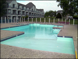 commercial pool applications