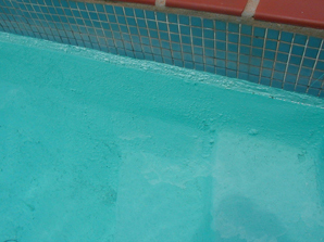 pool paint failure
